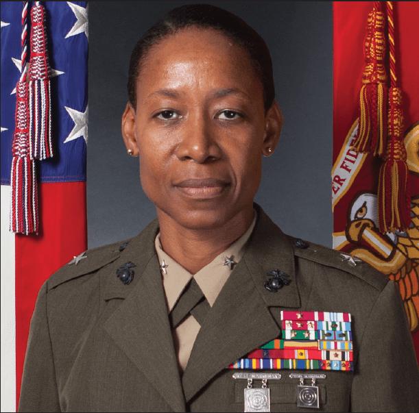 United States Marine Corps Brigadier General Lorna M. Mahlock