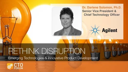 Preview: Keynote Lecture by Agilent Technologies SVP & CTO Dr. Darlene Solomon at RETHINK DISRUPTION 2020