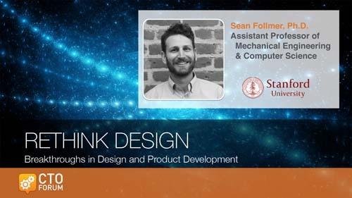 Preview Keynote by Stanford University Professor Sean Follmer at RETHINK DESIGN 2020