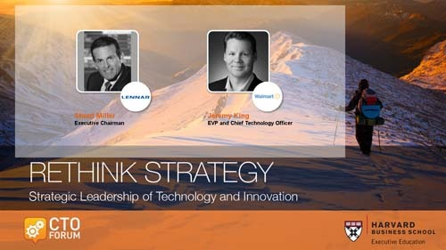 Preview of Q & A Session featuring Lennar Executive Chairman Stuart Miller, Walmart EVP & CTO Jeremy King at RETHINK STRATEGY 2018