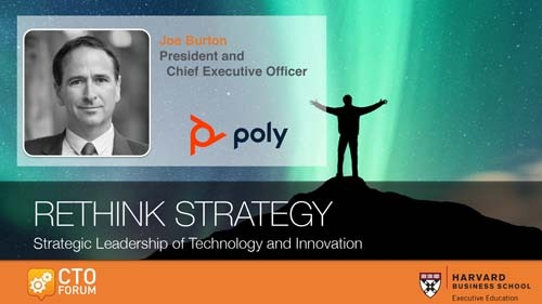 Preview: Keynote Address by Poly, Inc. President & CEO Mr. Joe Burton at RETHINK STRATEGY 2019