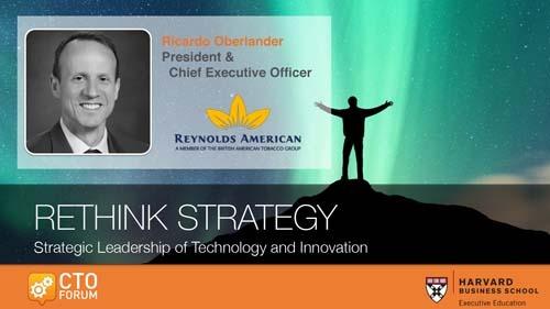 Preview: Keynote Address by Reynolds American President & CEO Mr. Ricardo Oberlander at RETHINK STRATEGY 2019