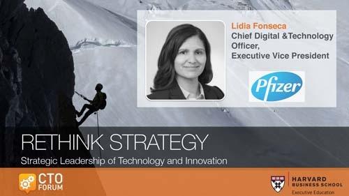 Keynote Address by Pfizer Chief Digital & Technology Officer Lidia Fonseca at RETHINK STRATEGY 2020