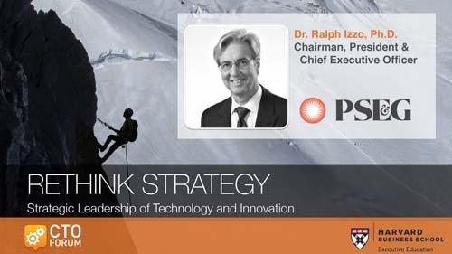Preview: PSEG Dr. Ralph Izzo, Ph.D. Keynote Address at RETHINK STRATEGY 2020