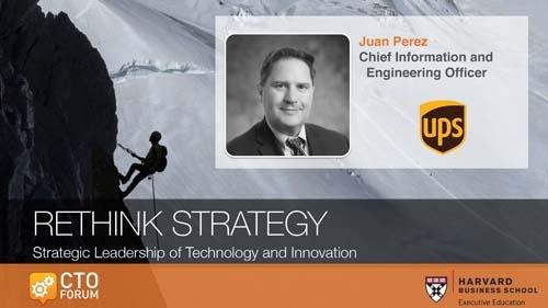 UPS Juan Perez Keynote Address at RETHINK STRATEGY 2020