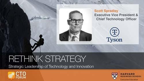 Tyson Foods Scott Spradley Keynote Address at RETHINK STRATEGY 2020