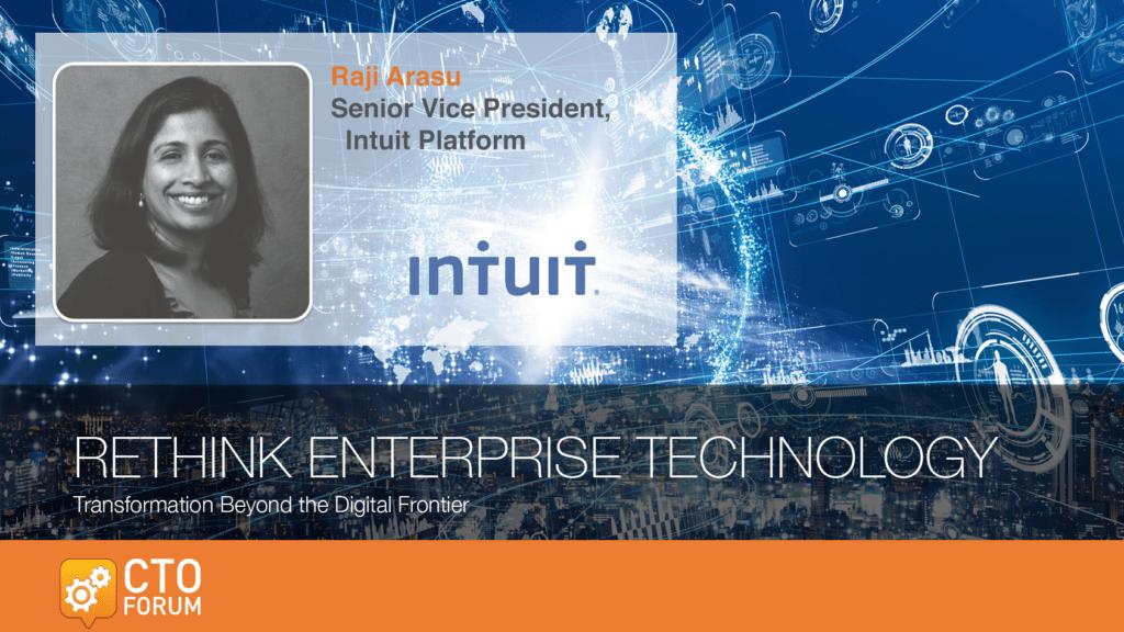 Preview: Intuit Raji Arasu Keynote Address at RETHINK ENTERPRISE TECHNOLOGY 2020