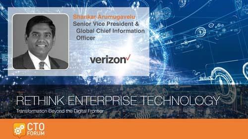 Preview: Verizon Shankar Arumugavelu Keynote Address at RETHINK ENTERPRISE TECHNOLOGY 2020