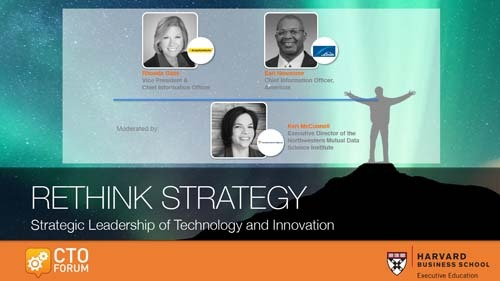 Q & A Session featuring Stanley Black & Decker Ms. Rhonda Gass, Linde Mr. Earl Newsome, and Northwestern Mutual Keri McConnell at RETHINK STRATEGY 2019