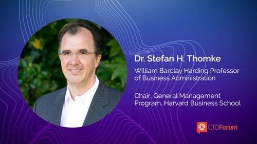 Keynote Lecture: Harvard Business School Professor Stefan Thomke at 2021 RETHINK STRATEGY