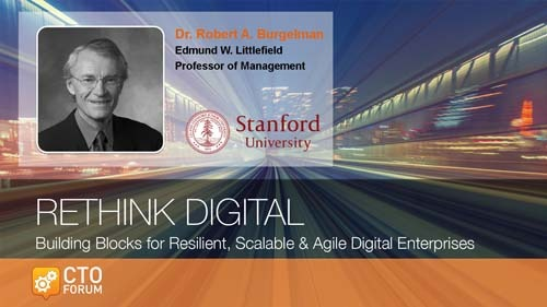 Keynote Address by Stanford Graduate School of Business Professor Robert A. Burgelman at RETHINK DIGITAL