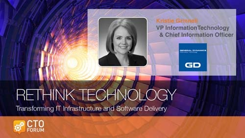 Preview: General Dynamics VP IT & CIO Kristie Grinnell at RETHINK TECHNOLOGY 2018