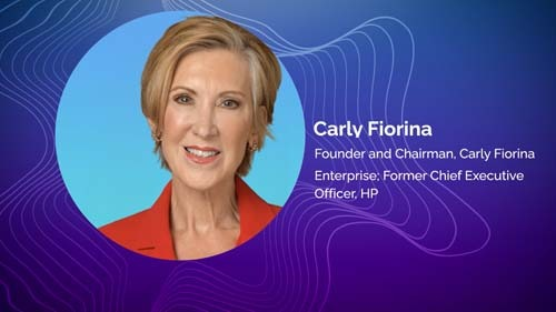 Preview: Carly Fiorina Enterprises Founder & Chairman, & Former CEO of Hewlett Packard Carly Fiorina at RETHINK CULTURE 2021